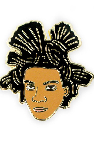 GEORGIA PERRY Basquiat Lapel Pin