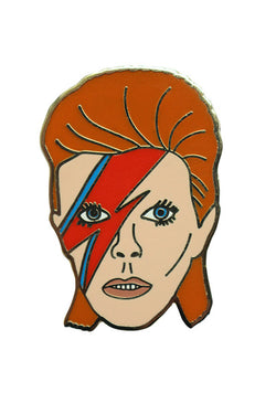 GEORGIA PERRY David Bowie Pin available in Enamel / Gold