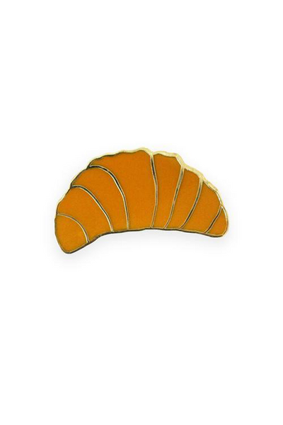 Georgia Perry Croissant Enamel Lapel Pin Georgia Perry is available in Brisbane Queensland Australia at Violent Green Store #georgiaperry #lapelpins #pins #greetingcards #brisbaneshopping #georgiaperrystockist #georgiaperrydealer #georgiaperrybrisbane #georgiaperryqueensland #georgiaperryaustralia #totebag #georgiaperrypins