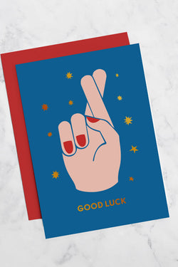 GEORGIA PERRY Good Luck Greeting Card