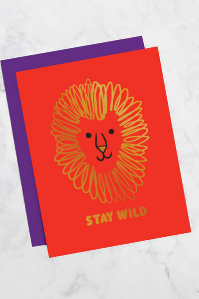 GEORGIA PERRY Stay Wild Greeting Card