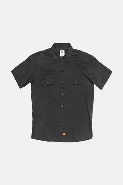 Dickies 1574 Work Shirt Black