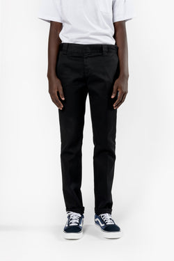 DICKIES 872 Slim Fit Work Pant Black Dickies is available in Brisbane Queensland Australia at Violent Green Albert Street store