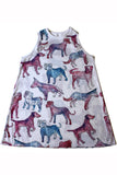 PHOEBE PARADISE DOGPARK SWING DRESS