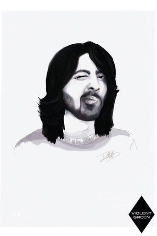 AND LIZZY-DAVE GROHL ARTWORK