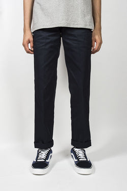 DICKIES 873 Slim Straight Fit Straight Leg Work Pant Dark Navy