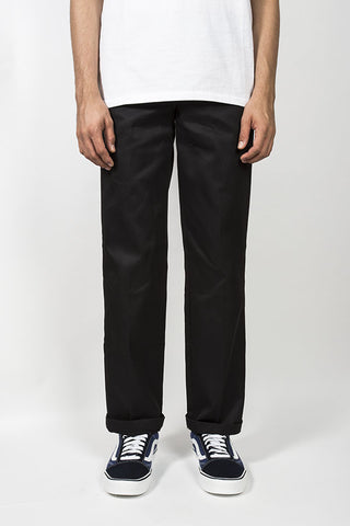Dickies 873 Slim Straight Fit Straight Leg Work Pant available in Black  Dickies is available in ac5204621a66