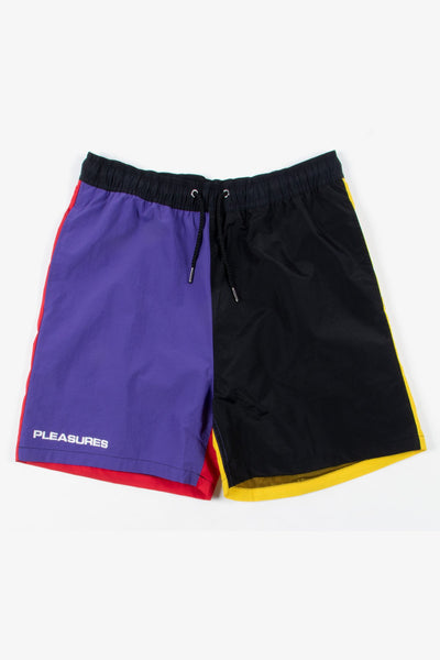 Pleasures Misfit Shorts - Purple