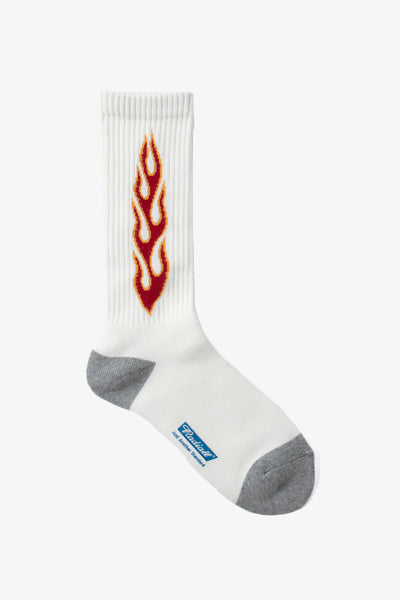 Radiall Hell Socks - White / Red