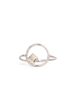 Natalie Marie Elemental Ring Sterling Silver