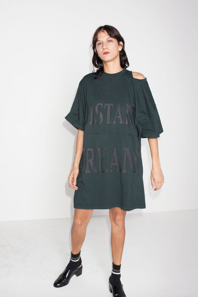 Perks And Mini (P.A.M.) Fool's Dance Jersey Dress Almost Black