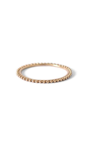 NATALIE MARIE FULL DOT RING available in 9ct YELLOW GOLD