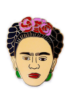 GEORGIA PERRY Frida Kahlo Lapel Pin