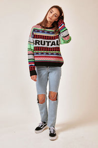 The Ragged Priest Harsh Knit - Multi Colour