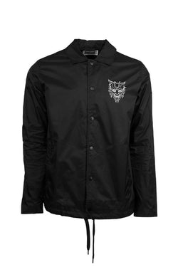 Surf Is Dead Hell Water Coach Jacket Black Surf is Dead is available in Brisbane Queensland Australia at Violent Green Albert Street store