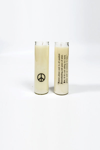 Hippie Sex Peace Candle