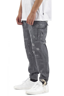 I LOVE UGLY Cargo Pant Charcoal