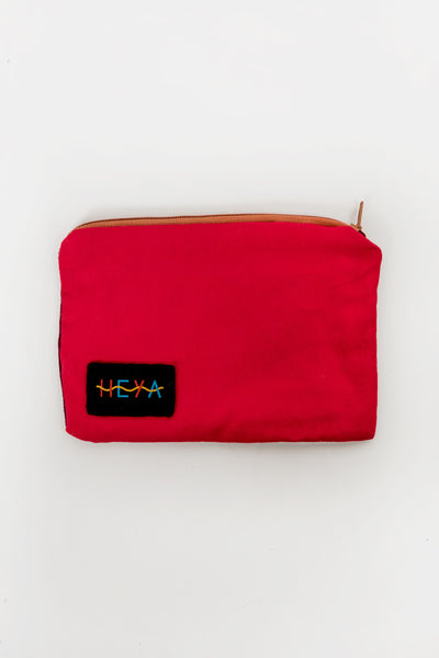 Heya Red Rust Pouch Heya is available in Brisbane Queensland Australia at Violent Green Albert Street store