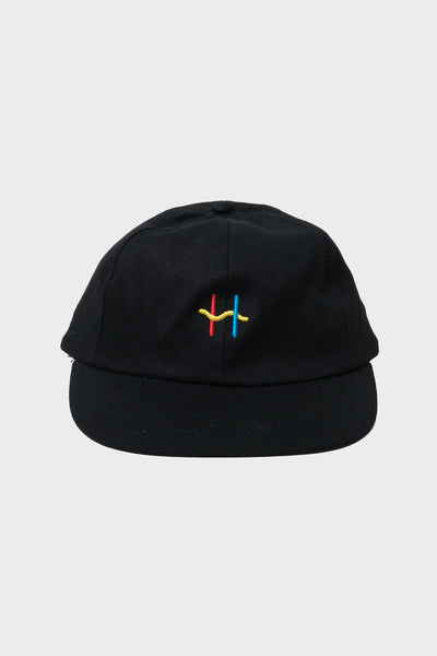 Heya H Badge Cap available in Black