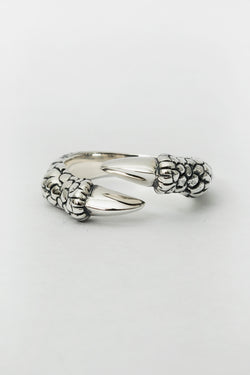 SJ Dynasty Talon Ring Sterling Silver