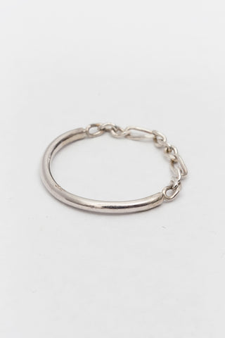 NEWEND-WASHER RING-STERLING SILVER Newend is available in Brisbane Queensland Australia at Violent Green Albert Street store
