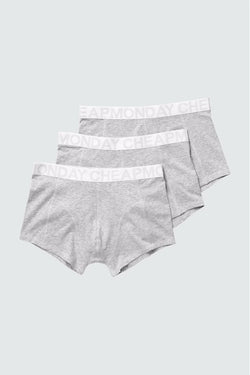 Cheap Monday Stretch Trunks available in Grey Melange SS16