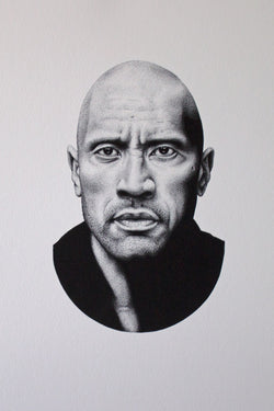 JARAD DANBY The Rock Print