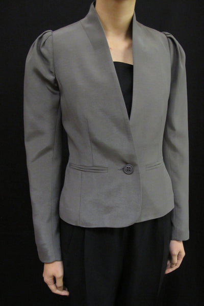 LOVER THE HARVEST SINGLE BREAST SHORT BLAZER available in SEED