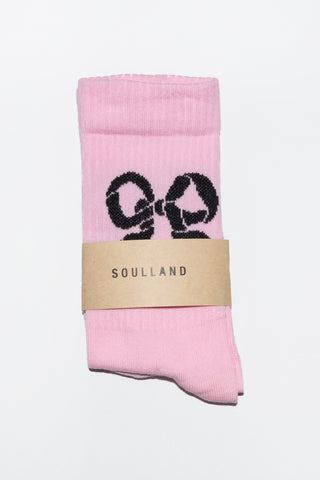 Soulland Ribbon Sock available Pink Soulland is available in Brisbane Queensland Australia at Violent Green Albert Street store #soulland #soullandclothing #soullanddenmark #soullandbrisbane #soullandqueensland #soullandaustralia #soullandstockist #soullanddealer #soullandpants #soullandshirt #soullandtshirt #streetwear #menswear #danishfashion