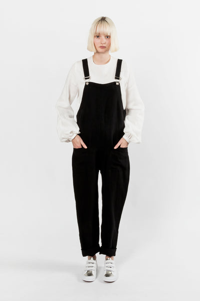 Matin Classic Overalls Long Matin is available in Brisbane Queensland Australia at Violent Green Albert Street Store #matin #matinstudio #matinstudios #matinstockist #matinbrisbanestockist #matinqueenslandstockist #matinaustralia #matinaustralianstockist #matindealer #matintop #matinpant #matindress #matinoverall #matinplaysuit #matinstudiobrisbane #matinstudioqueensland #matinstudioaustralia #womenswear #australianfashion #madeinaustralia #australiandesigner #ethicalfashion