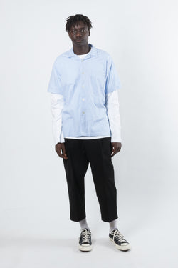 MFPEN Camp Paisley Shirt available in Light Blue MFPEN is available in Brisbane Queensland Australia at Violent Green Albert Street store #mfpen #mfpenstockist #mfpendealer #mfpenaustralia #mfpenbrisbane #mfpenqueensland #mfpentrousers #mfpenpants #menswear #copenhagen #scandinaviandesign #fashion
