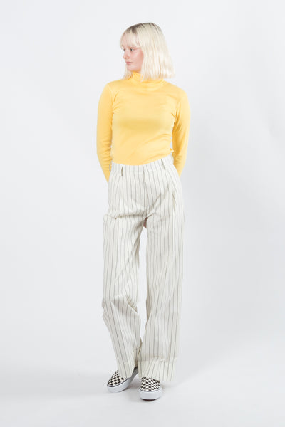 Wood Wood Rosalyn Turtleneck available in Yellow Wood Wood is available in Brisbane Queensland Australia at Violent Green store #woodwood #menswear #womenswear #fashion #streetwear #woodwoodstockist #woodwooddealer #woodwoodaustralia #woodwoodbrisbane #woodwoodqueensland #woodwoodonline