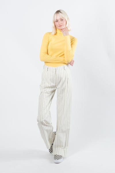 Wood Wood Marissa Trousers Off White Pinstripe Wood Wood is available in Brisbane Queensland Australia at Violent Green store #woodwood #menswear #womenswear #fashion #streetwear #woodwoodstockist #woodwooddealer #woodwoodaustralia #woodwoodbrisbane #woodwoodqueensland #woodwoodonline