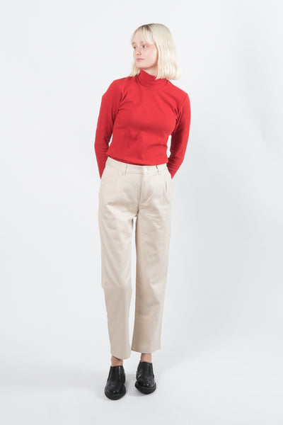 Kowtow Turnaround Pant available in Natural Kowtow is available in Brisbane Queensland Australia at Violent Green Albert Street store #kowtow #kowtowclothing #kowtowpant #kowtowstockist #kowtowdealer #kowtowaustralia #kowtowbrisbane #kowtowqueensland #kowtowshop #ethicalfashion #sustainablefashion