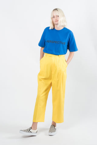 Perks And Mini (P.A.M.) Perspective Pike Trouser available in Yellow Perks And Mini (P.A.M.) Perks And Mini aka P.A.M. is available in Brisbane Queensland Australia at Violent Green Albert Street store. #P.A.M. #PERKSANDMINI #PAM #PAMSTOCKIST #PERKSANDMINI #P.A.M.STOCKIST #PERKSANDMINIDEALER #STREETWEAR #AUSTRALIANDESIGNERS #PERKSANDMINIAUSTRALIA #PERKSANDMINIBRISBANE #PERKSANDMINIQUEENSLAND #PAMAUSTRLAIA #PAMQUEENSLAND #PAMBRISBANE #P.A.M.AUSTRALIA #P.A.MQUEENSLAND #P.A.M.BRISBANE #PERSPECTIVE