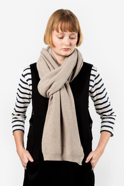Kowtow No End Scarf Oatmeal