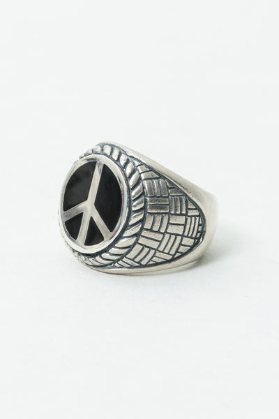 Radiall Peace Symbol Ring Radiall is available in Brisbane Queensland Australia at Violent Green Albert Street store  #radiall #radialljapan #radiallstockist #radialldealer #doobies #radiallaustralia #radiallqueensland #radiallbrisbane #radialltokyo #radialljustanotherstandard #anotherstandard #menswear #fashion #madeinjapan