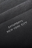 SATURDAYS SURF NYC SCOTT FULL ZIP WALLET available in BLACK