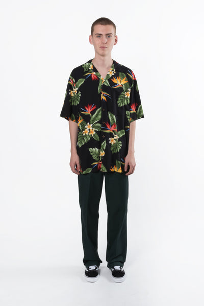 RJC aloha Hawaiian shirt is available in Brisbane queensland Australia at violent green store #rjc #alohashirt #campcollar #hawaiianshirt #robertjclancey #menswear #aloha #madeinusa