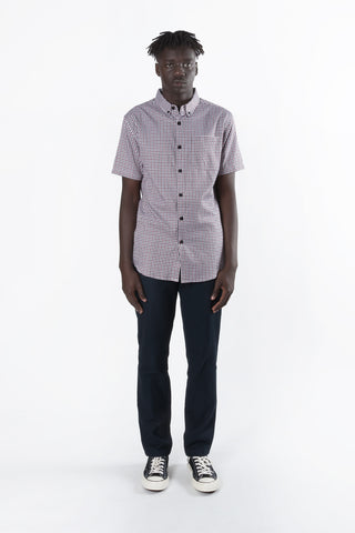 Dickies H.S Original Slim Fit S/S Shirt available in Plaid / Multi