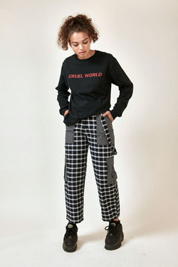 The Ragged Priest Protest Pant - Black