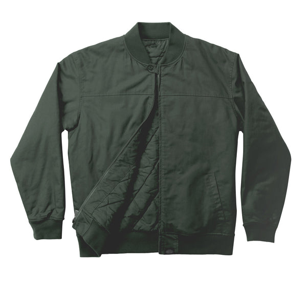 Dickies Anchorage Bomber Jacket available in Army Green Dickies is available in Brisbane Queensland Australia at Violent Green Albert Street store