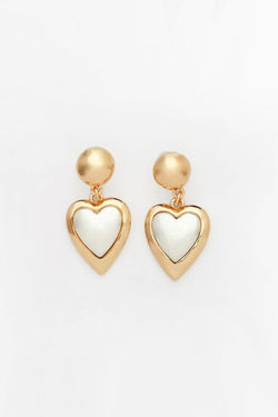 Reliquia Kind Heart Earrings - Gold