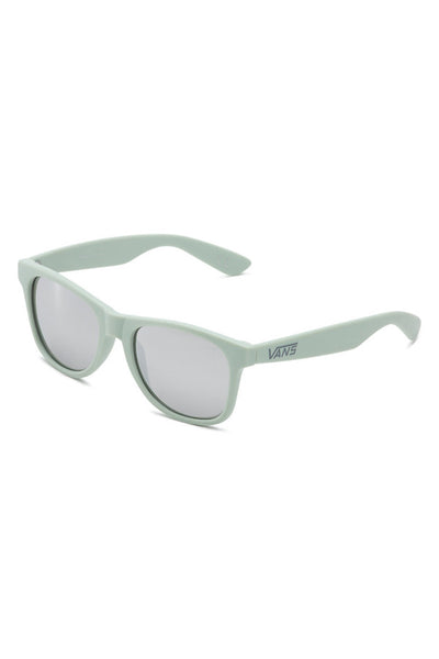 Vans Spicoli 4 Shades Sunglasses available in Split Green Frosted Silver Mirror