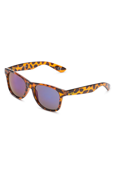 Vans Spicoli 4 Sunglasses Vans Translucent Honey Tortoise / Royal Blue Mirror