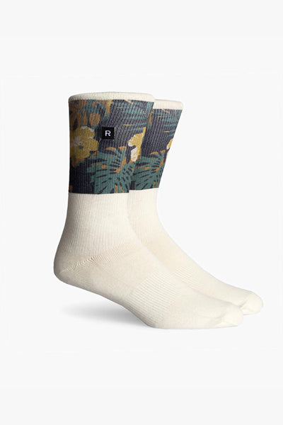 Richer Poorer Mahalo Sock Richer Poorer is available in Brisbane Queensland Australia at Violent Green Albert Street store #richerpoorer #richerpoorersocks #richerpoorerstockist #richerpoorerdealer #richerpoorerbrisbane #richerpoorerqueensland #richerpooreraustralia #socks