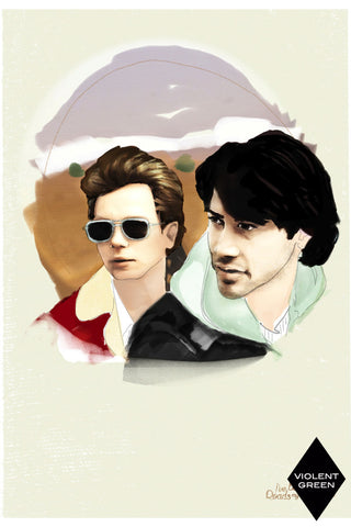 AND LIZZY-MY OWN PRIVATE IDAHO ARTWORK