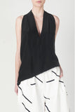 ACLER NICHOLSON SILK TOP available in BLACK