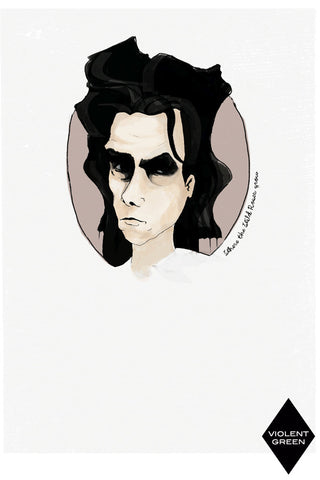 AND LIZZY-NICK CAVE ARTWORK