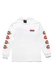 Nothing Bite The Bullet  L/S T-shirt - White